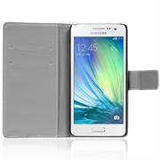 Gemusterte Print Wallet Hülle für Samsung Galaxy A7 Tasche mit Motiv Design - Schutzhülle mit Kartenfächer