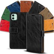 Retro Wallet Tasche für Apple iPhone 11 Hülle Business Flip Case
