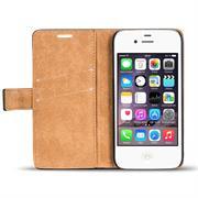 Retro Klapptasche für Apple iPhone 4 / 4S aufstellbares Schutzcase
