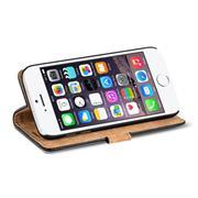 Retro Klapptasche für Apple iPhone 6 / 6S Book Cover Hülle mit Kartenfächer