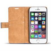 Retro Klapptasche für Apple iPhone 7 / 8 Schutzhülle mit Kartenfächern