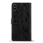 Retro Tasche für Apple iPhone X / XS Hülle Wallet Case Handyhülle Vintage Slim Cover