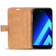 Retro Klapptasche für Samsung Galaxy A3 2017 aufstellbares Book Wallet