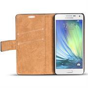 Retro Klapptasche für Samsung Galaxy A5 2015 aufstellbares Book Wallet