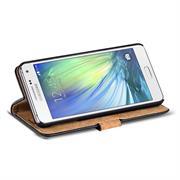 Retro Klapptasche für Samsung Galaxy A7 Book Cover Hülle mit Kartenfächer
