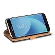 Retro Klapptasche für Samsung Galaxy J5 2017 aufstellbares Book Wallet