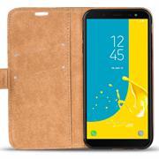 Retro Klapptasche für Samsung Galaxy J6 2018 aufstellbares Book Wallet