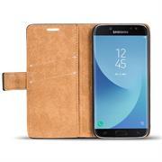 Retro Klapptasche für Samsung Galaxy J7 2017 Book Cover Hülle Tasche mit Kartenfächer