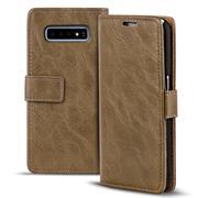 Retro Klapptasche für Samsung Galaxy S10e aufstellbares Book Wallet