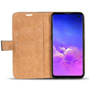 Retro Klapptasche für Samsung Galaxy S10 aufstellbares Book Wallet