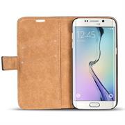 Retro Klapptasche für Samsung Galaxy S6 Edge Plus aufstellbares Wallet