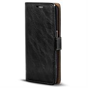 Retro Klapptasche für Samsung Galaxy S9 aufstellbares Book Wallet