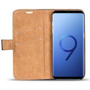 Retro Tasche für Samsung Galaxy S9 Hülle Wallet Case Handyhülle Vintage Slim Cover