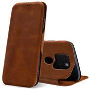 Shell Flip Case für Huawei Mate 20 Hülle Handy Tasche mit Kartenfach Premium Schutzhülle