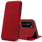 Shell Flip Case für Huawei P40 Pro Hülle Book Cover Handy Tasche mit Kartenfach Premium Schutzhülle