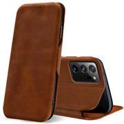 Shell Flip Case für Samsung Galaxy Note 20 Ultra Hülle Book Cover Handy Tasche mit Kartenfach Premium Schutzhülle