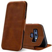 Shell Flip Case für Samsung Galaxy Note 9 Hülle Handy Tasche mit Kartenfach Premium Schutzhülle