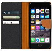 Handy Tasche für Apple iPhone 6s Plus / 6 Plus Hülle Wallet Jeans Case Schutzhülle