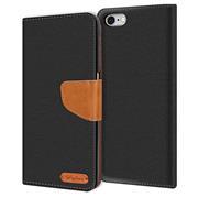 Handy Tasche für Apple iPhone 6s / 6 Hülle Wallet Jeans Case Schutzhülle