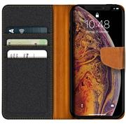Handy Tasche für Apple iPhone XS Max Hülle Wallet Jeans Case Schutzhülle