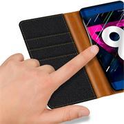 Handy Tasche für Honor 9 Hülle Wallet Jeans Case Schutzhülle