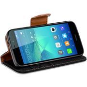 Handy Tasche für Huawei GT3 Hülle Wallet Jeans Case Schutzhülle