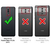 Handy Tasche für Huawei Mate 10 Lite Hülle Wallet Jeans Case Schutzhülle