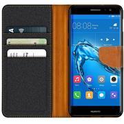 Handy  Tasche für Huawei Nova Plus Hülle Wallet Jeans Case Schutzhülle
