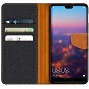 Handy Tasche für Huawei P20 Pro Hülle Wallet Jeans Case Schutzhülle