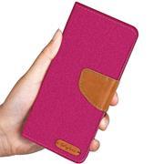 Handy Tasche für Huawei P40 Pro Hülle Wallet Jeans Case Schutzhülle