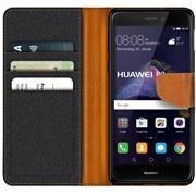 Handy  Tasche für Huawei P8 Lite 2017 Hülle Wallet Jeans Case Schutzhülle