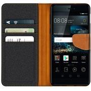 Handy Tasche für Huawei P8 Hülle Wallet Jeans Case Schutzhülle