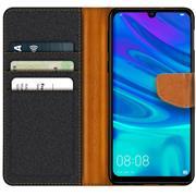Handy Tasche für Huawei Y7 2019 Hülle Wallet Jeans Case Schutzhülle