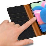 Handy Tasche für Samsung Galaxy A32 5G Hülle Wallet Jeans Case Schutzhülle