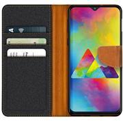 Handy  Tasche für Samsung Galaxy M20 Hülle Wallet Jeans Case Schutzhülle