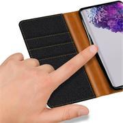 Handy Tasche für Samsung Galaxy S20 Ultra Hülle Wallet Jeans Case Schutzhülle