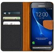 Handy  Tasche für Samsung Galaxy XCover 3 Hülle Wallet Jeans Case Schutzhülle