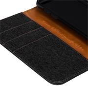 Handy  Tasche für Wiko View Go Hülle Wallet Jeans Case Schutzhülle