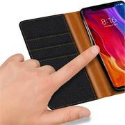 Handy Tasche für Xiaomi Mi 8 Pro Hülle Wallet Jeans Case Schutzhülle