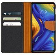 Book Wallet Tasche für Xiaomi Mi Mix 3 Schutzhülle im Jeans-Look