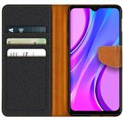 Handy Tasche für Xiaomi Redmi 9 Hülle Wallet Jeans Case Schutzhülle