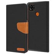 Handy Tasche für Xiaomi Redmi 9C Hülle Wallet Jeans Case Schutzhülle
