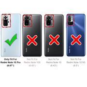 Handy Tasche für Xiaomi Redmi Note 10 Pro Hülle Wallet Jeans Case Schutzhülle