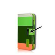 Dreifarbige Hülle für Apple iPhone 4 / 4S Schutzcase mit Kartenfächern