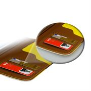 Dreifarbige Hülle für Apple iPhone 6 / 6S Schutzcase mit Kartenfächern