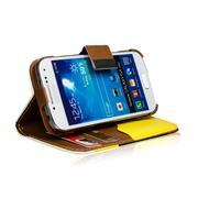 Dreifarbige Hülle für Samsung Galaxy S4 Mini Case mit Kartenfächern