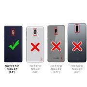 Panzerglas für Nokia 2.1 Glasfolie Displayschutz Folie Glas Hartglas Anti Fingerprint