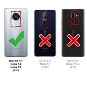 Panzerglas für Nokia 7.2 / 6.2 Glasfolie Displayschutz Folie Glas Hartglas Anti Fingerprint