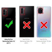 Farbwechsel Hülle für Samsung Galaxy Note 10 Schutzhülle Handy Case Slim Cover