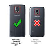 Panzerglas für Samsung Galaxy S5 Glasfolie Displayschutz Folie Glas Hartglas Anti Fingerprint